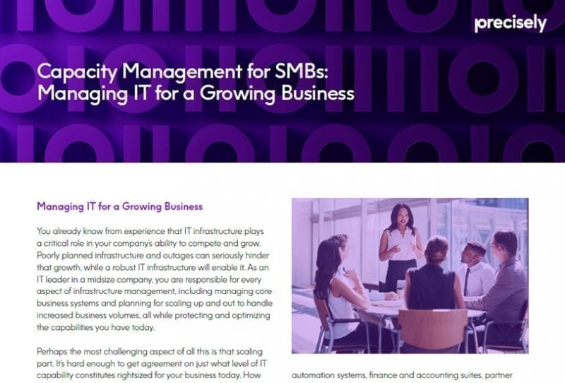 Capacity Management for SMBs