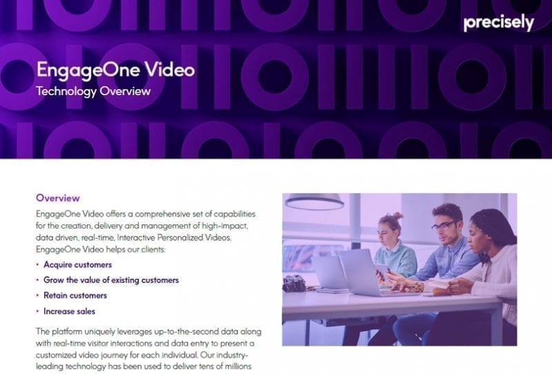 EngageOne Video Technology Overview
