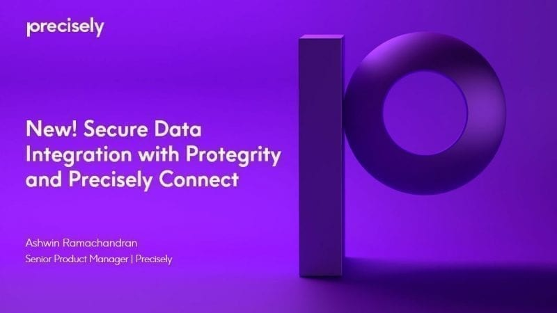 Secure Data Integration with Protegrity and Precisely Connect