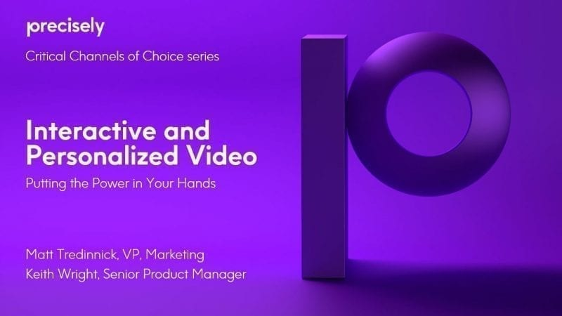 Interactive and Personalized Video - Putting the Power in Your Hands