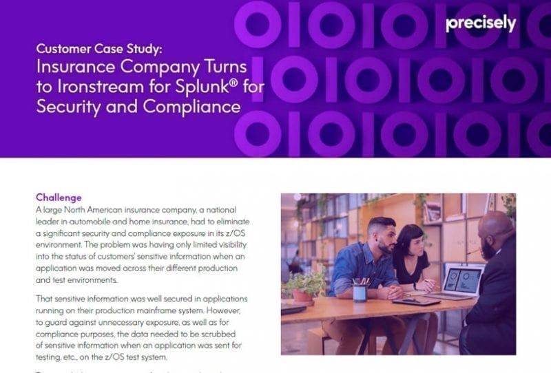 Insurance Firm Is Proactive in Enterprise Security