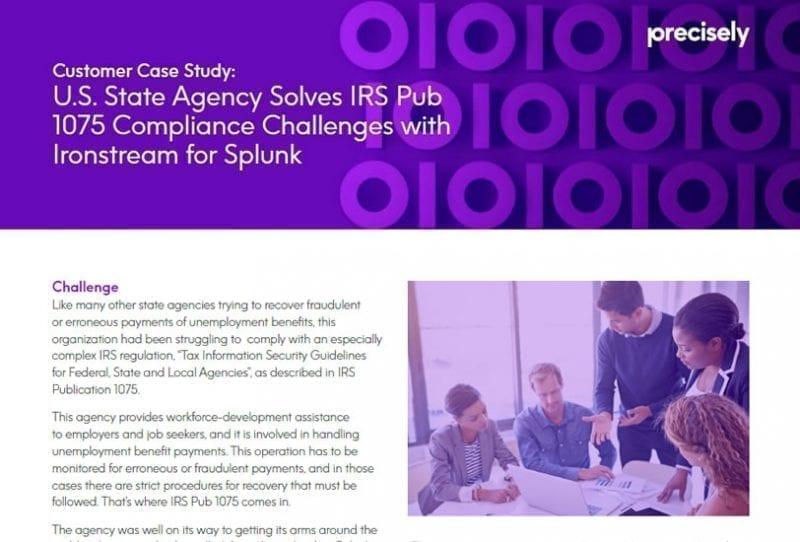 Solving IRS Pub 1075 Compliance