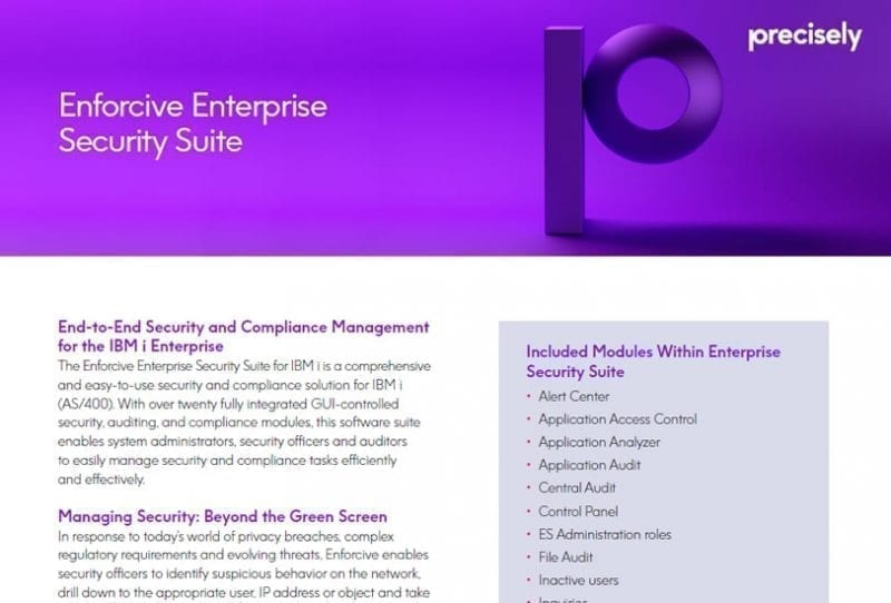Enforcive Enterprise Security Suite