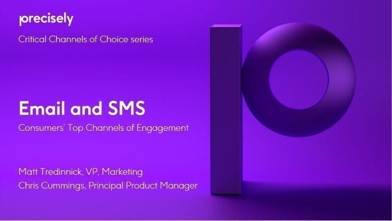 Email and SMS - Consumers' Top Channels of Engagement