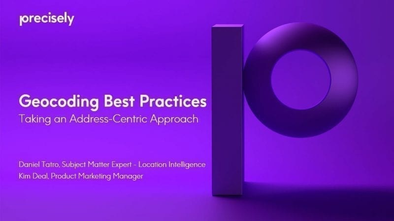 Geocoding Best Practices-Taking an Address-Centric Approach
