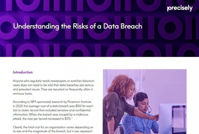 Understanding the Risks of a Data Breach