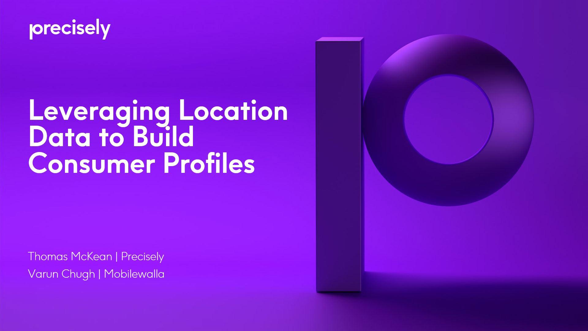 Leveraging Location Data to Build Consumer Profiles