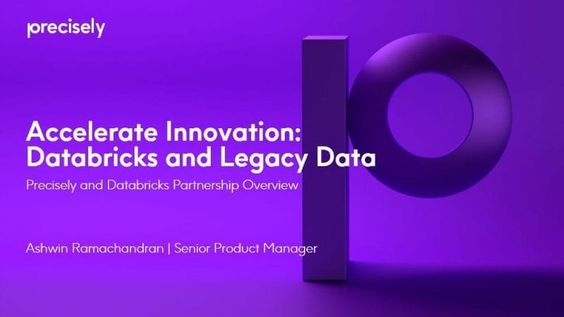 Accelerate Innovation with Databricks and Legacy Data