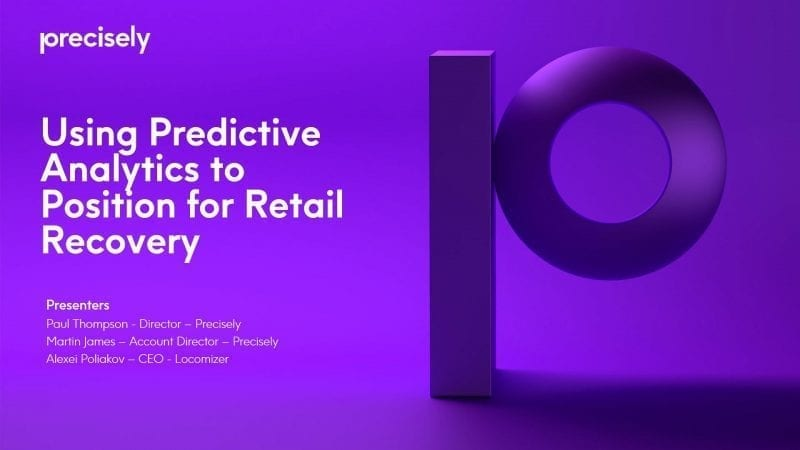 Positioning for Retail Recovery: The Role of Predictive Analytics Fueled by Mobile Trace Data