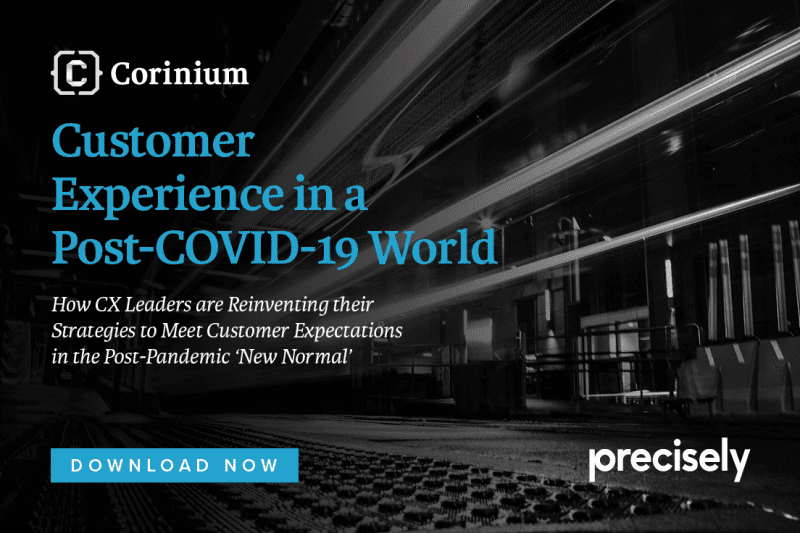 Customer Experience changes forever in the wake of COVID-19 - Corinium Report