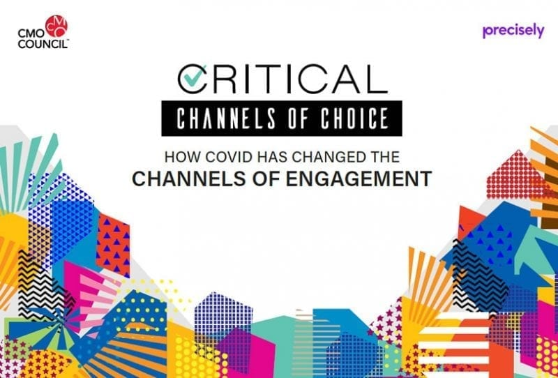 Critical Channels of Choice - How Covid has changed the channels of engagement