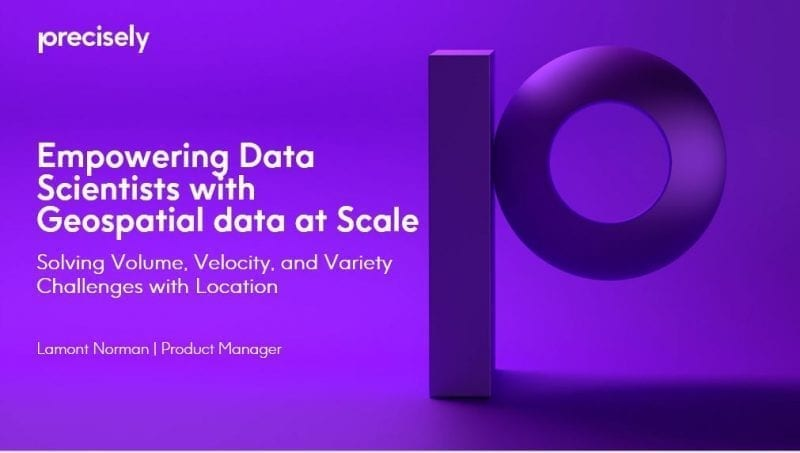 Empowering Data Scientists to Utilize Geospatial Data at Scale