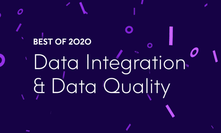 Best of 2020 – Top 10 Data Integration and Data Quality Blog Posts