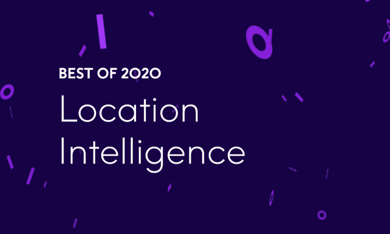 Best of 2020 – Top 10 Location Intelligence Blog Posts