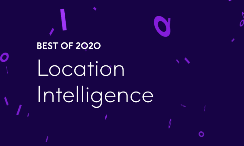 Best of 2020 – Top 10 Location Intelligence Blog Posts