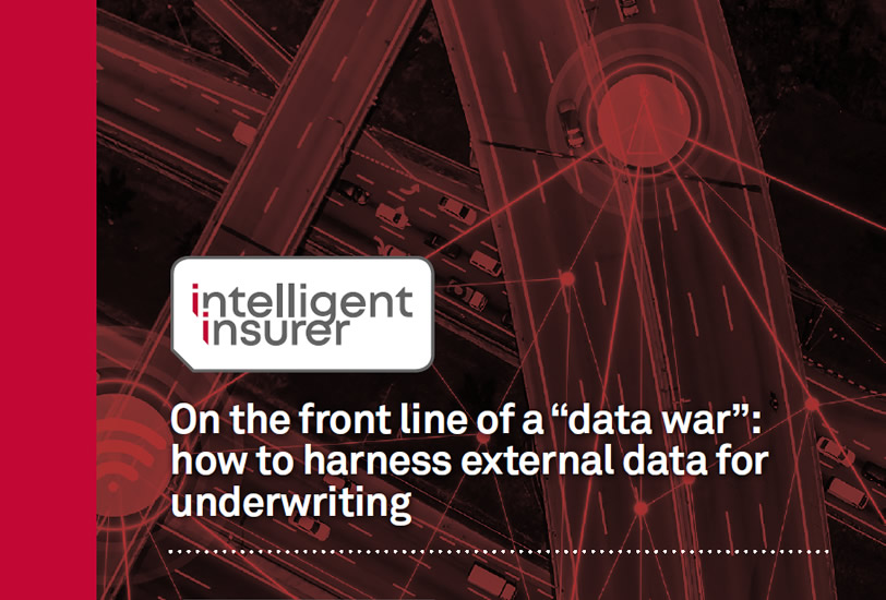 How to harvest external data for underwriting