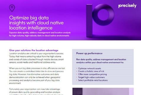 Location Intelligence Image Geocoding deployed as cloud-native processes