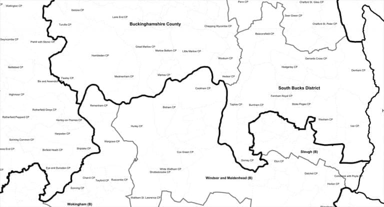 Precisely's BoundaryLine dataset contains all levels of UK electoral and administrative boundaries including districts, wards, civil parishes & parliamentary constituencies.