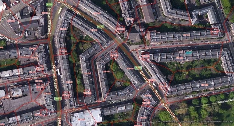 Precisely's Code-Point with Polygons dataset providesdetailed local addressing for Great Britain, including the extent of each postcode unit