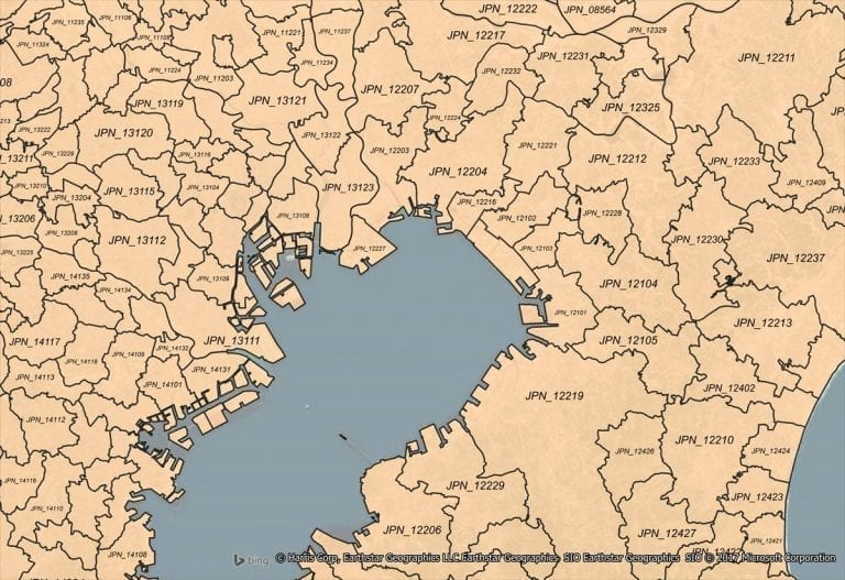 Global Gfk CRESTA Zones for Mapping Insurance Risk