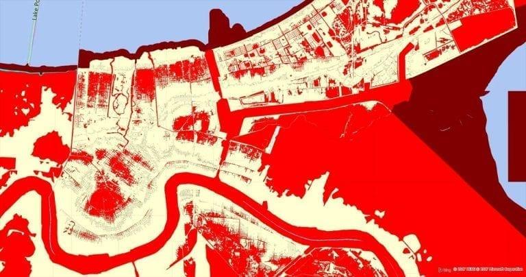 Flood Risk from Precisely - FEMA flood risk map & flood zone data