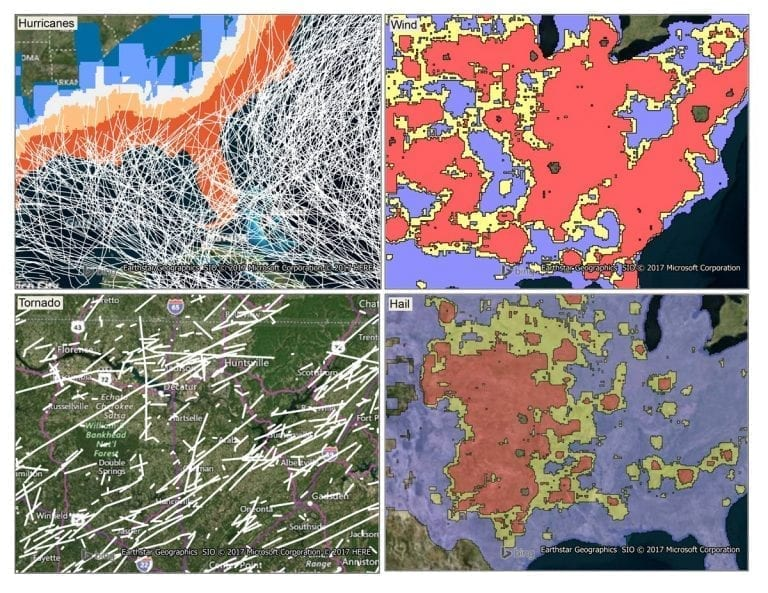 Precisely Historical Weather Risk contains comprehensive, historical weather data of hazardous events -- hurricane, hail, tornado & windstorms