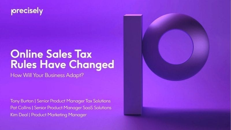 Online Sales Tax Rules Have Changed