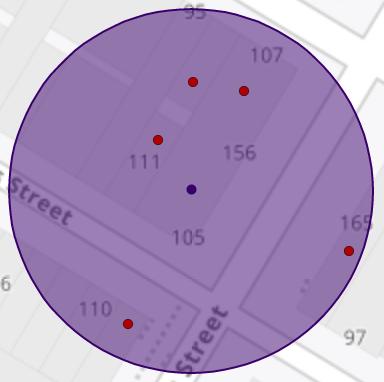risk next door - radius