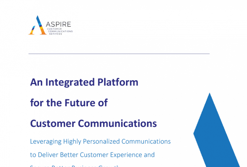 An Integrated Platform for the Future of Customer Communications
