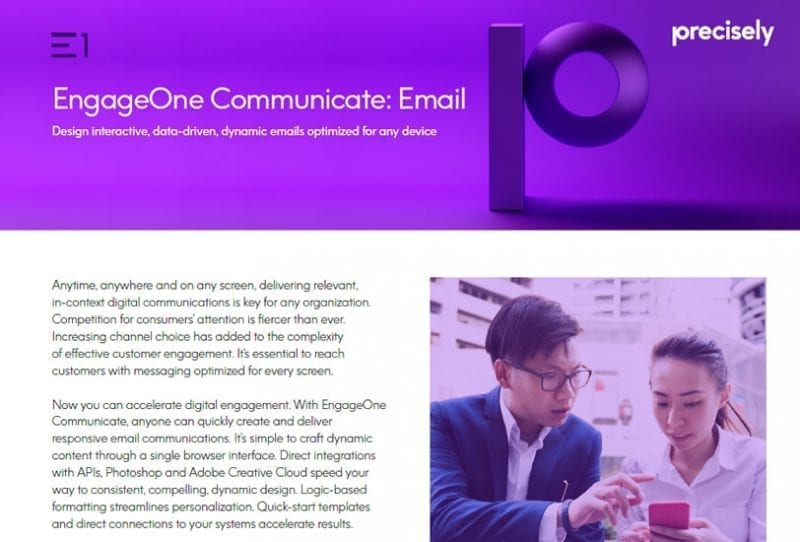 EngageOne Communicate Email