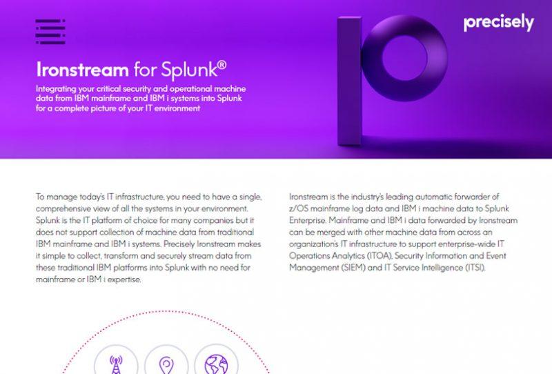 Ironstream for Splunk