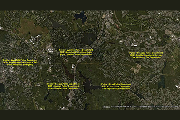 EmergencyInfo Pro is a database of police, fire, and emergency medical service (EMS) service areas throughout the U.S.