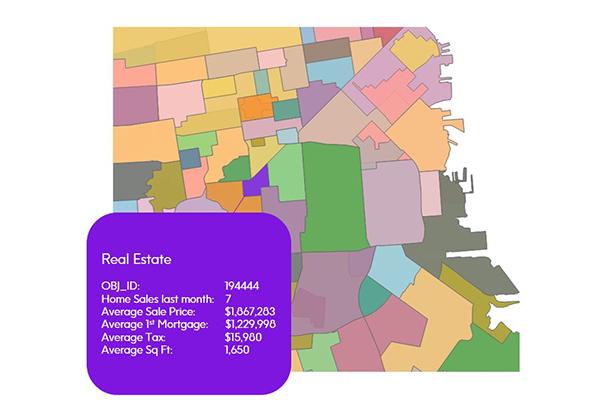 Real Estate Data: A Snapshot of Properties Making Up a Neighborhood