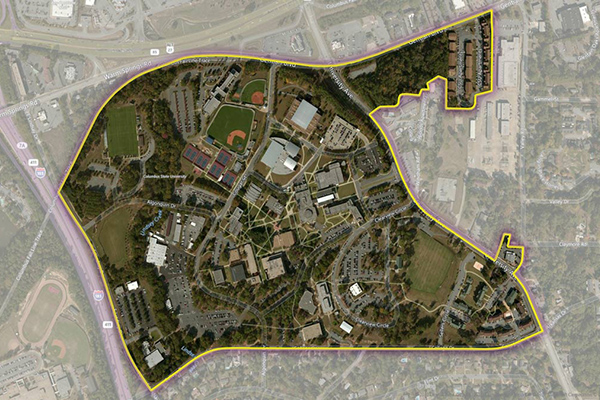 College Data and Polygonal Boundaries for First Responders