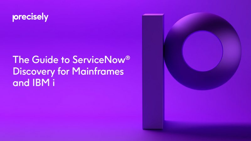 ServiceNow: The Guide to Discovery for Mainframes and IBM i