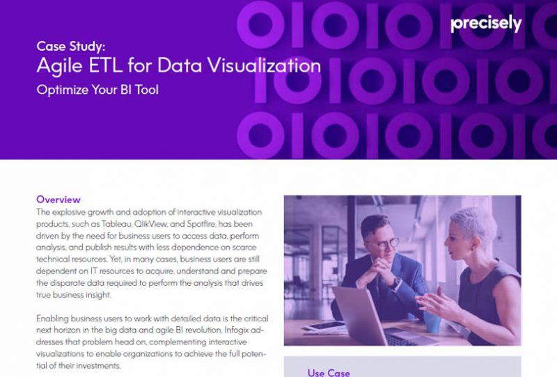 Agile ETL for Data Visualization